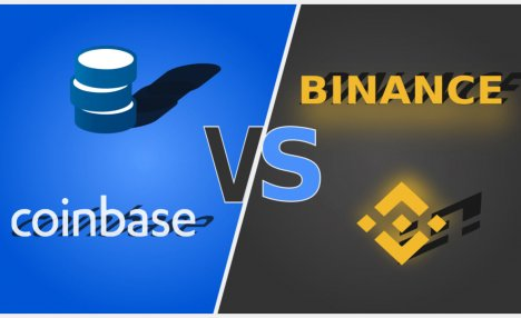 Binance Sees Volume Growth As Coinbase Nurses 80% Drop