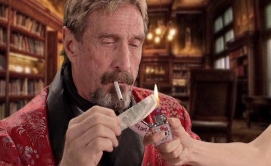 John McAfee reveals he charges $105,000 per promotional cryptocurrency tweet